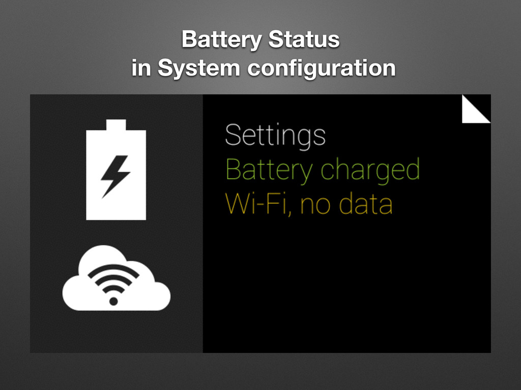 Battery Status