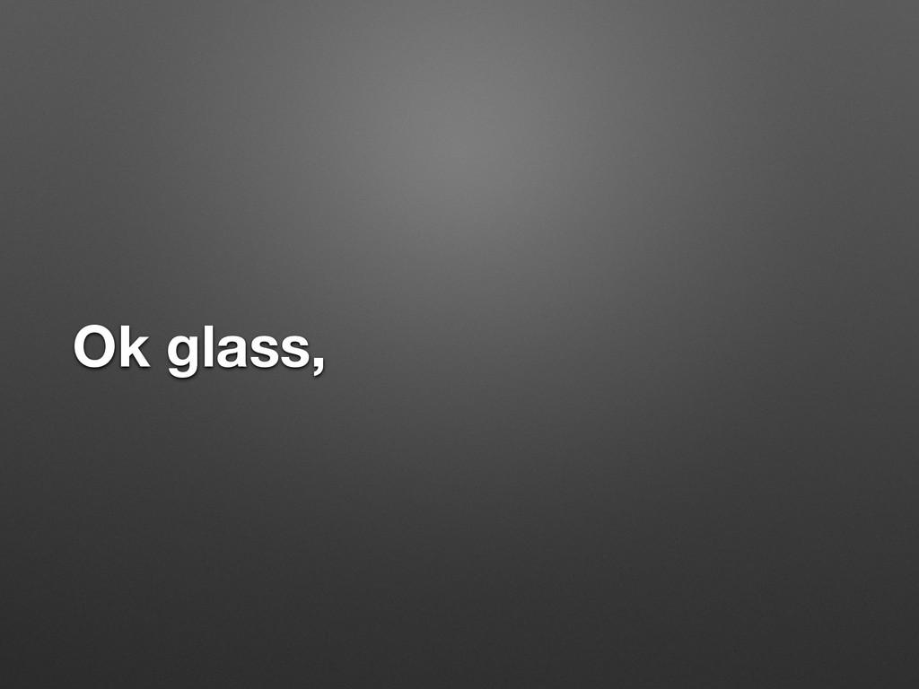Ok glass,