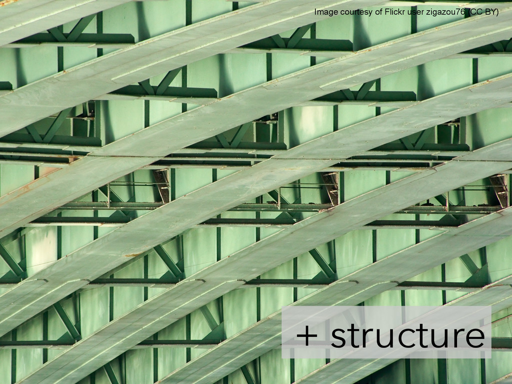 + structure 	