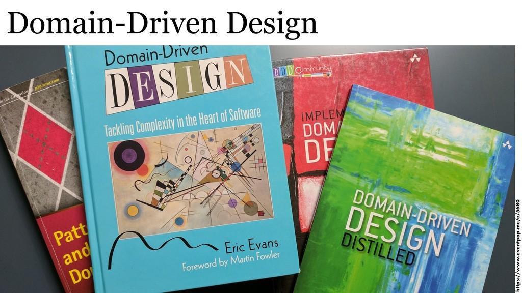 Domain-Driven Design https://www.eventpop.me/e/...
