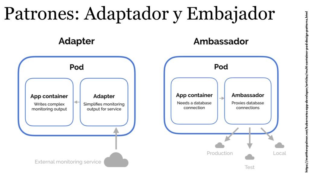 Patrones: Adaptador y Embajador https://matthew...