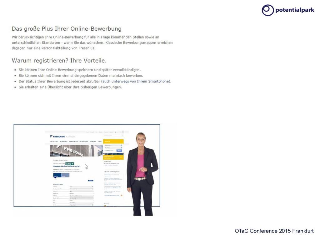 OTaC Conference 2015 Frankfurt Fresenius