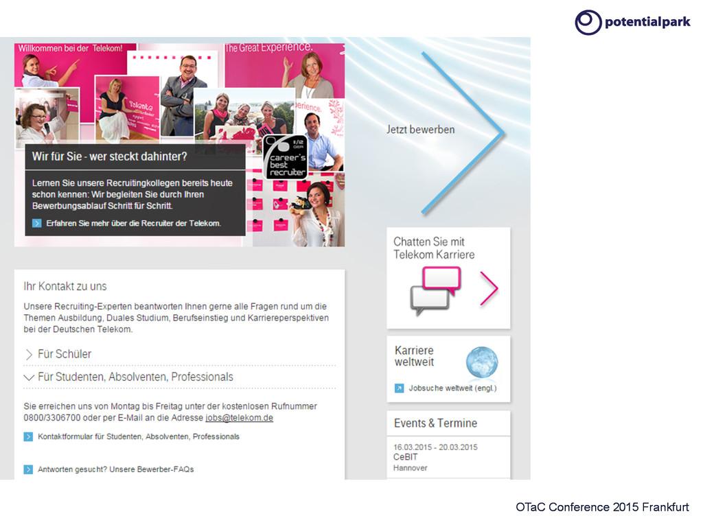 OTaC Conference 2015 Frankfurt Instant chat...
