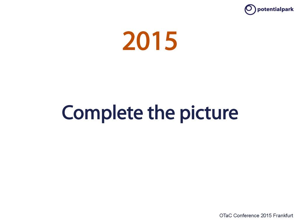 OTaC Conference 2015 Frankfurt 2015 Complete th...