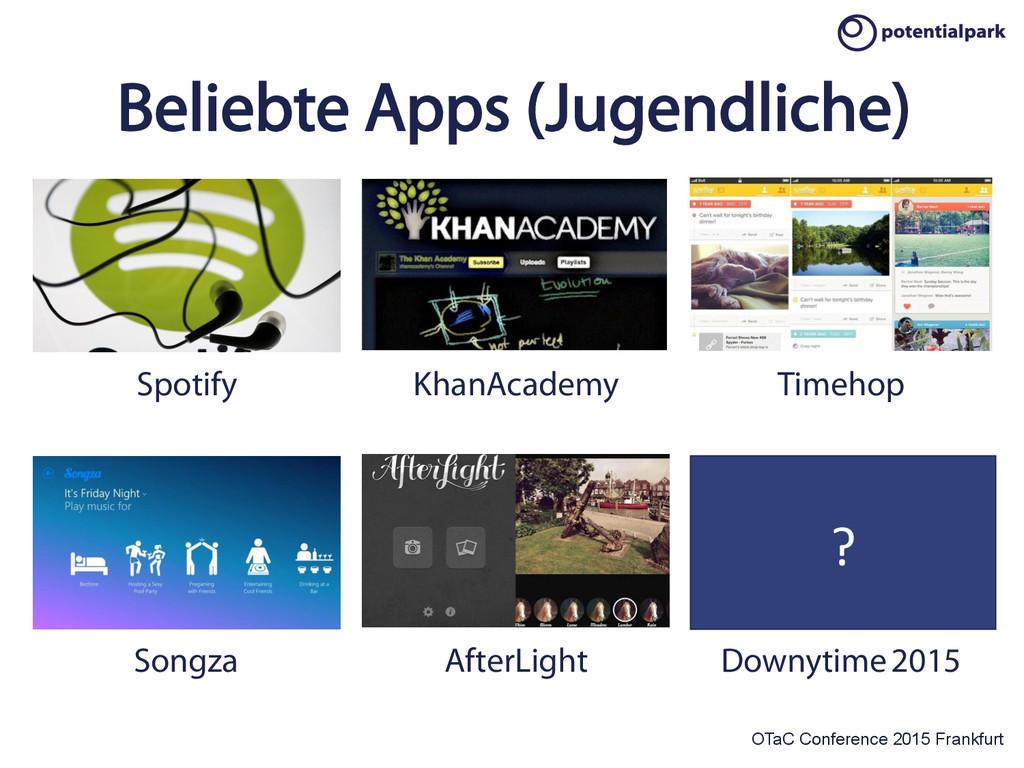 OTaC Conference 2015 Frankfurt Beliebte Apps (J...