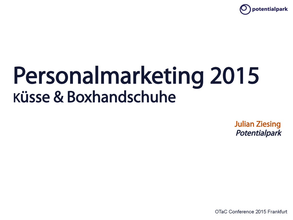 OTaC Conference 2015 Frankfurt Personalmarketin...