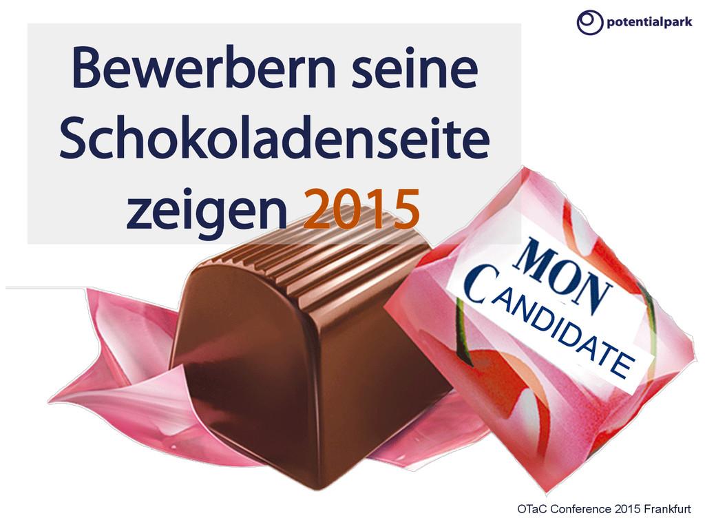OTaC Conference 2015 Frankfurt Bewerbern seine ...
