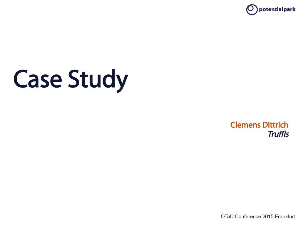 OTaC Conference 2015 Frankfurt Case Study Cleme...
