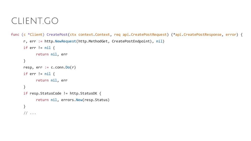 func (c *Client) CreatePost(ctx context.Context...