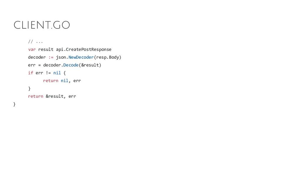 // ... var result api.CreatePostResponse decode...