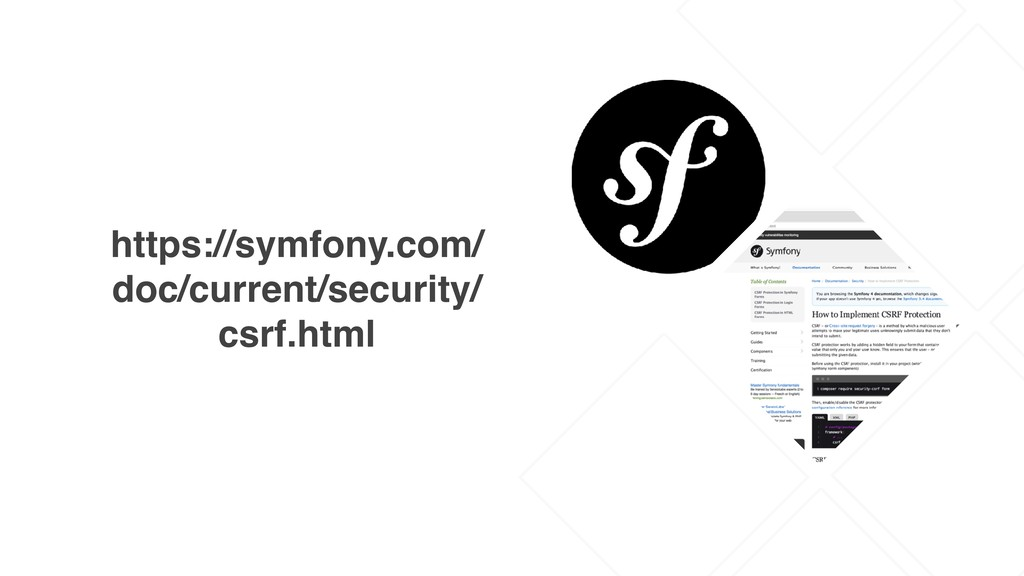 https://symfony.com/ doc/current/security/ csrf...