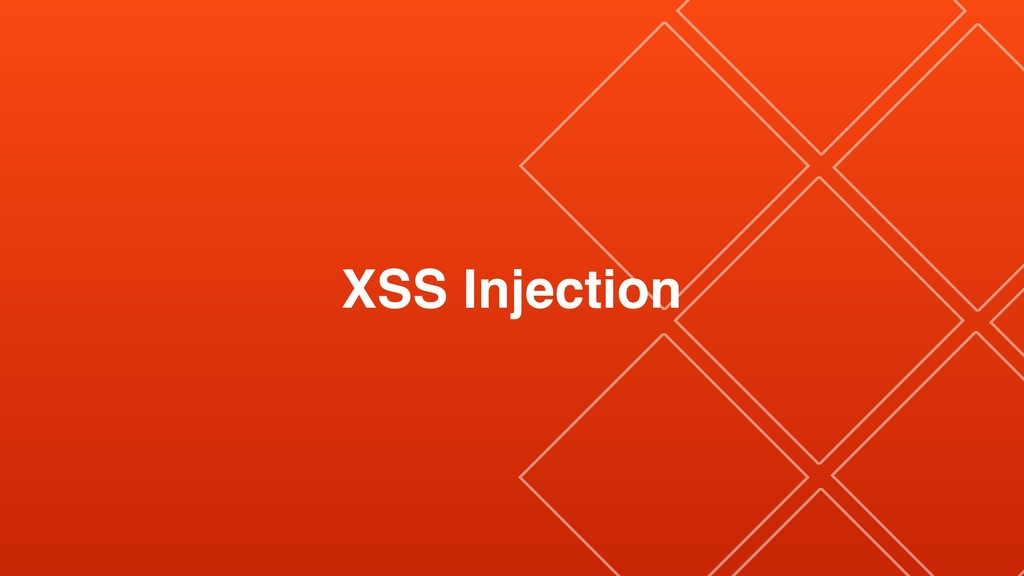 XSS Injection