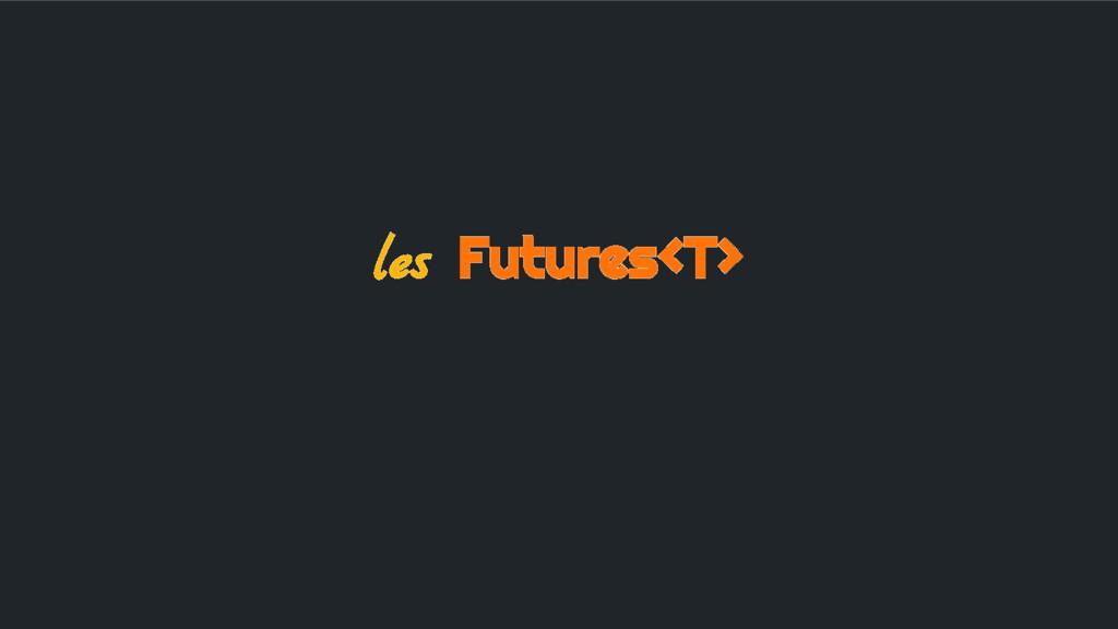 les Futures<T>