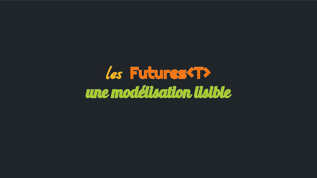 les Futures<T> une modélisation lisible