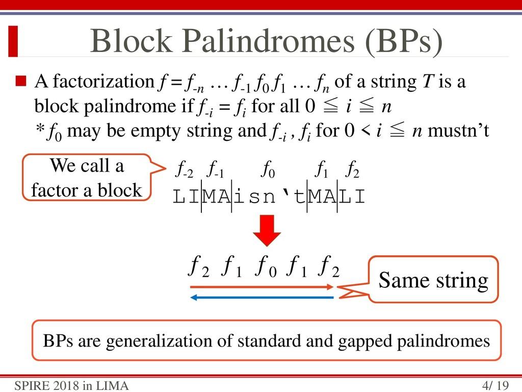  A factorization f = f-n … f-1 f0 f1 … fn of a...