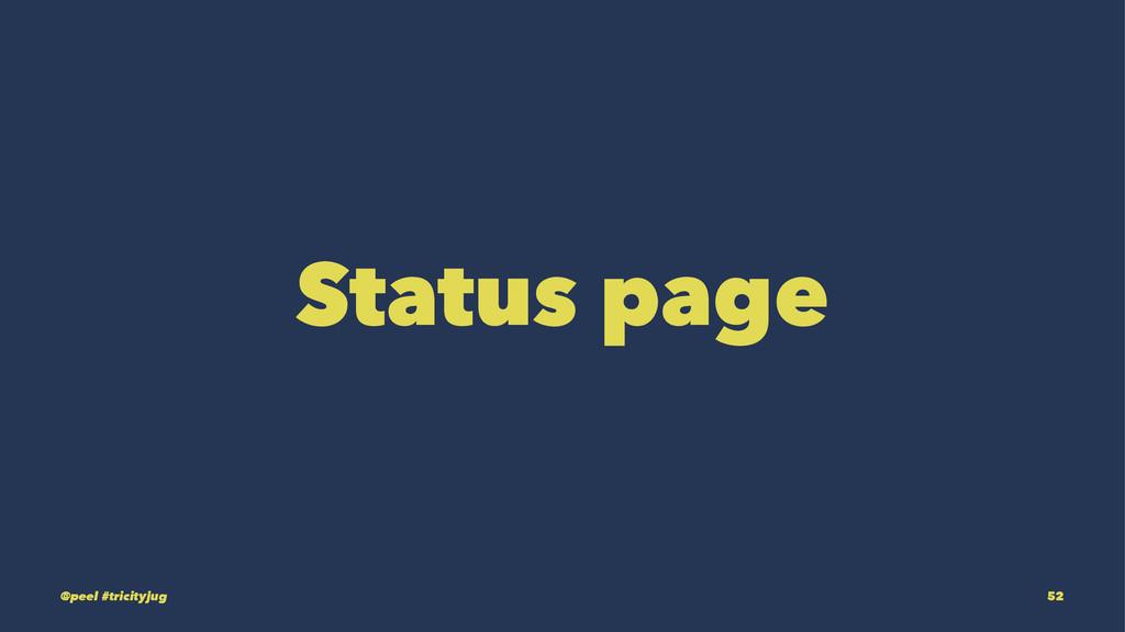 Status page @peel #tricityjug 52