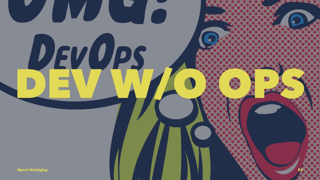 DEV W/O OPS @peel #tricityjug 53