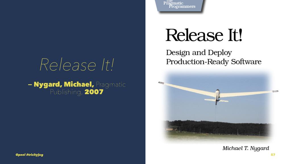 Release It! — Nygard, Michael, Pragmatic Publis...