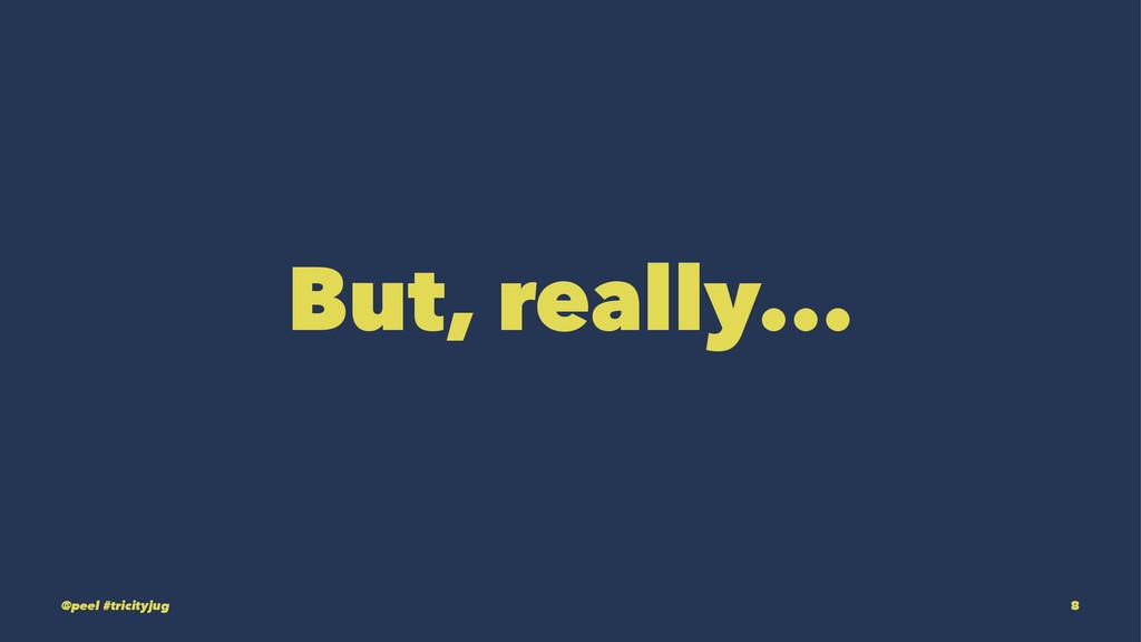But, really... @peel #tricityjug 8