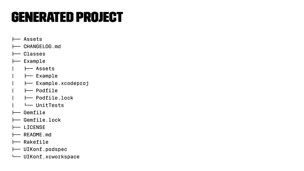 """Generated project !"""""""" Assets !"""""""" CHANGELOG.md !..."""