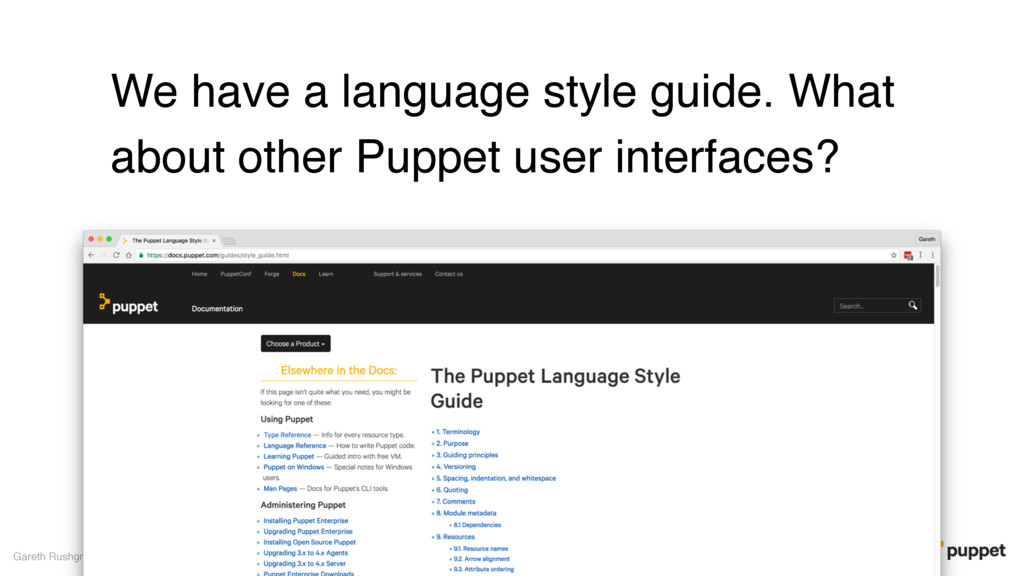 We have a language style guide. What about othe...