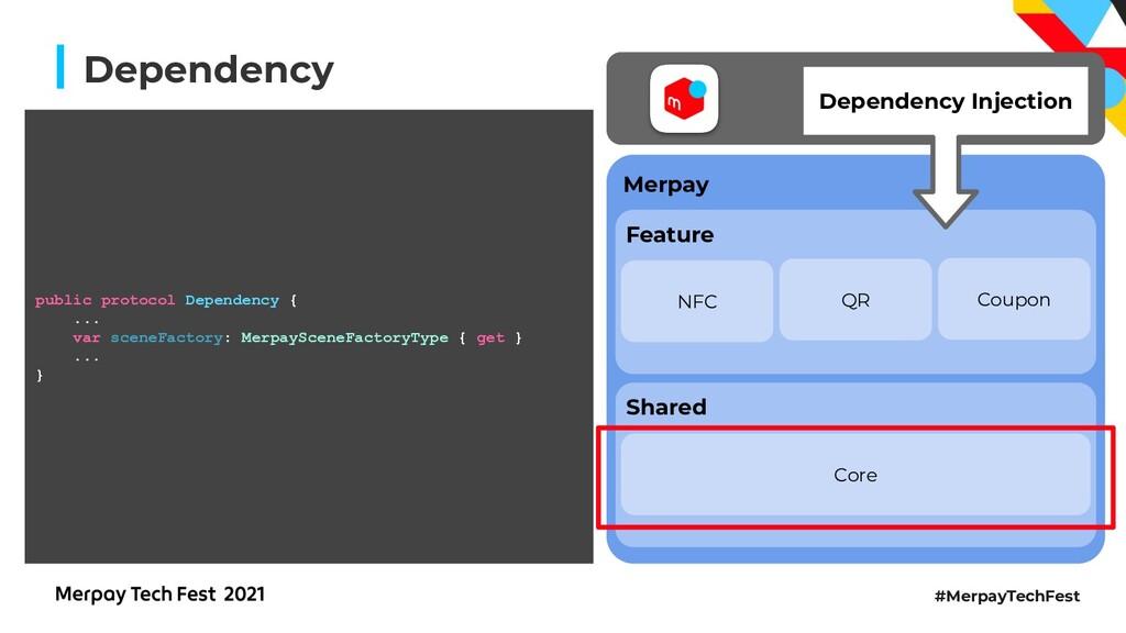 #MerpayTechFest Dependency NFC Coupon QR Depend...