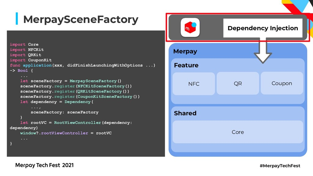 #MerpayTechFest MerpaySceneFactory NFC Coupon Q...