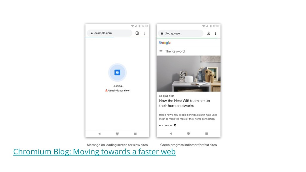 Chromium Blog: Moving towards a faster web