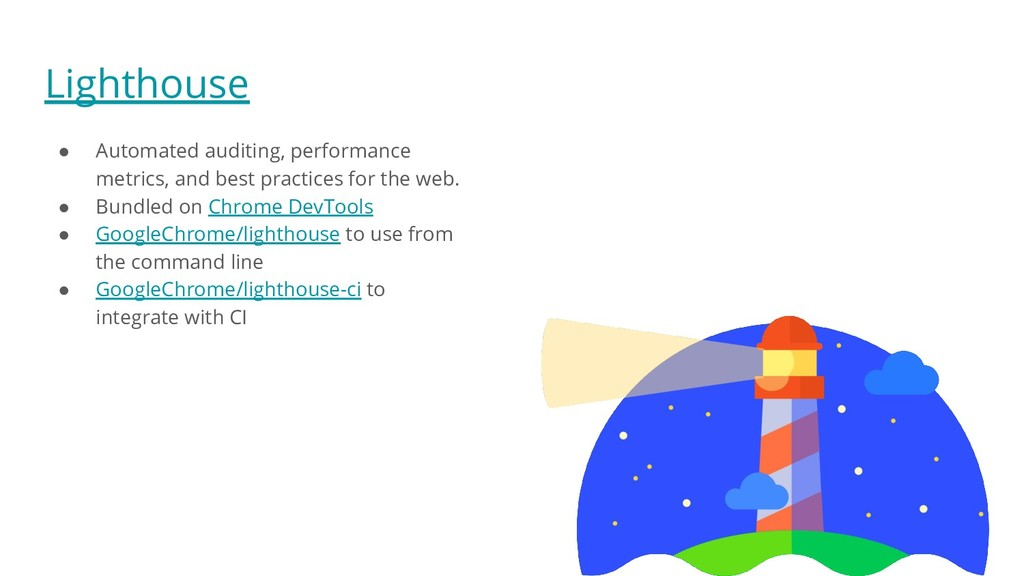 Lighthouse ● Automated auditing, performance me...