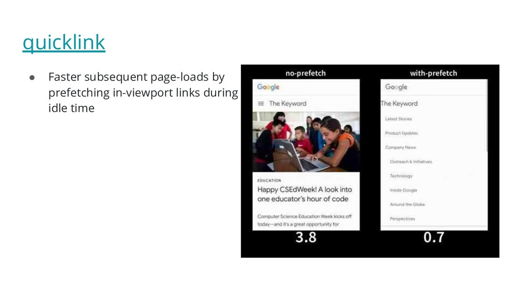 quicklink ● Faster subsequent page-loads by pre...