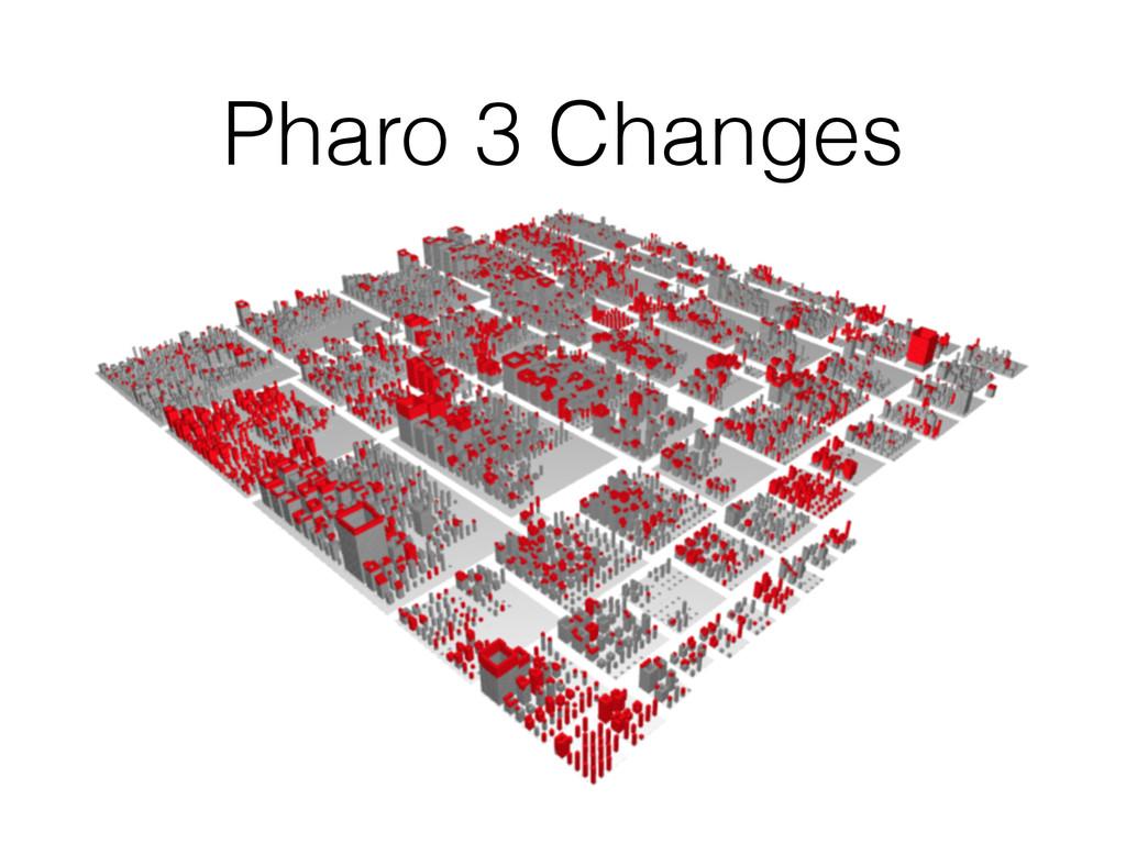 Pharo 3 Changes