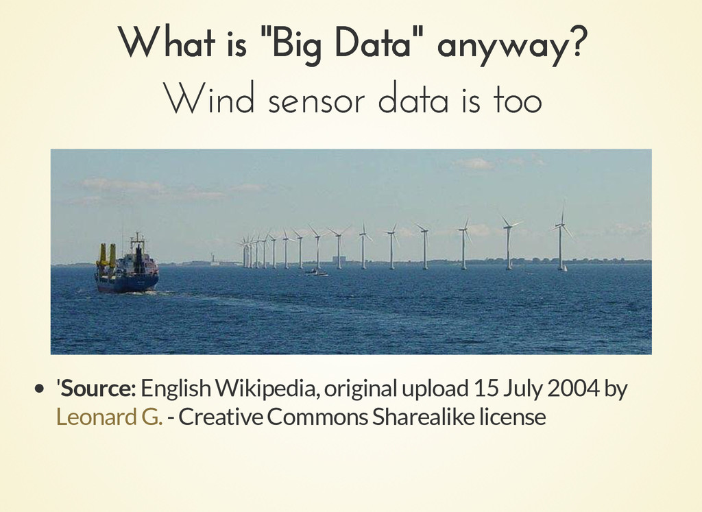 """What is """"Big Data"""" anyway? What is """"Big Data"""" a..."""