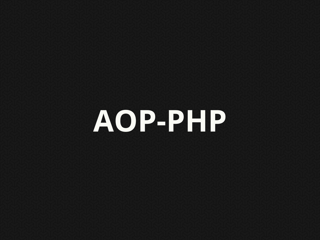 AOP-PHP