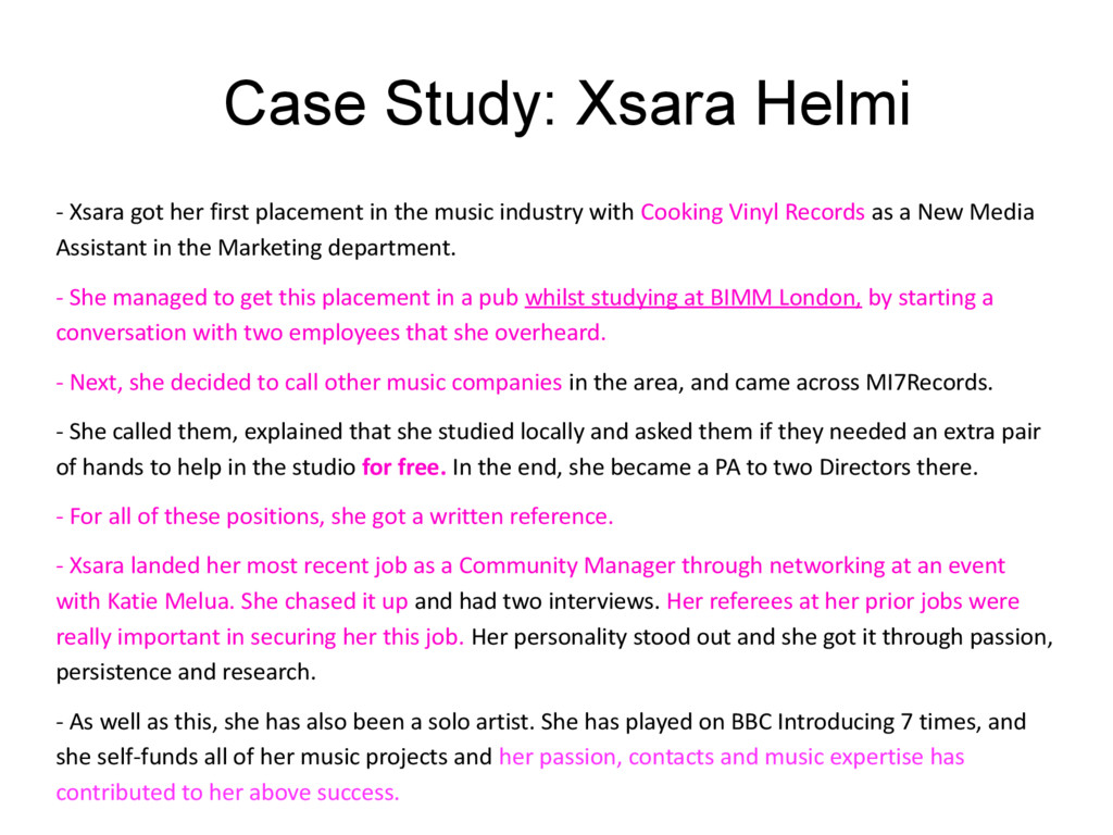 Case Study: Xsara Helmi - Xsara got her first p...