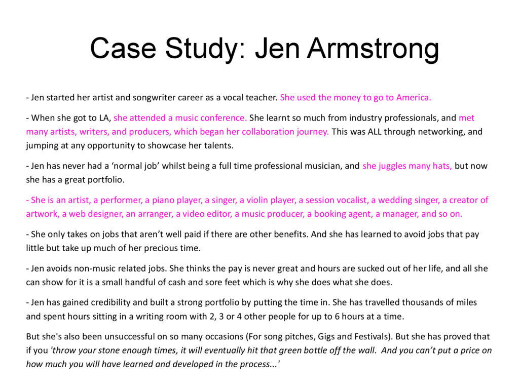 Case Study: Jen Armstrong - Jen started her art...