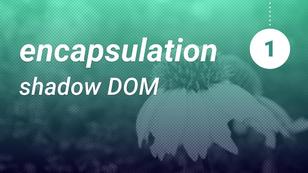 encapsulation shadow DOM 1