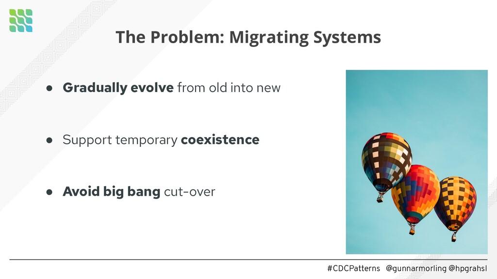 #CDCPatterns @gunnarmorling @hpgrahsl The Probl...