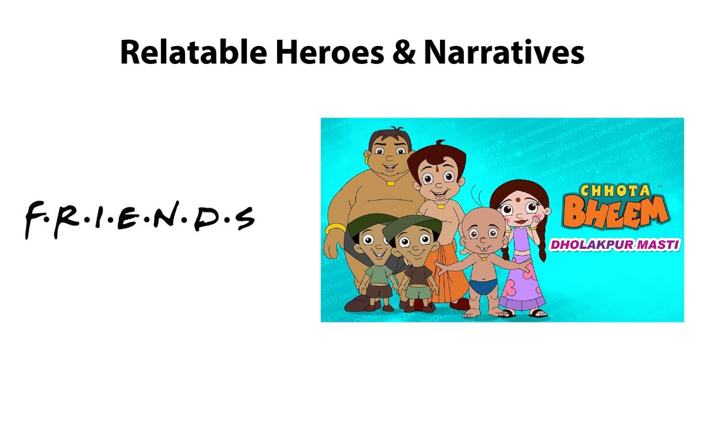 Relatable Heroes & Narratives