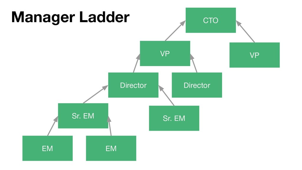 EM EM Sr. EM Director VP CTO Manager Ladder Dir...
