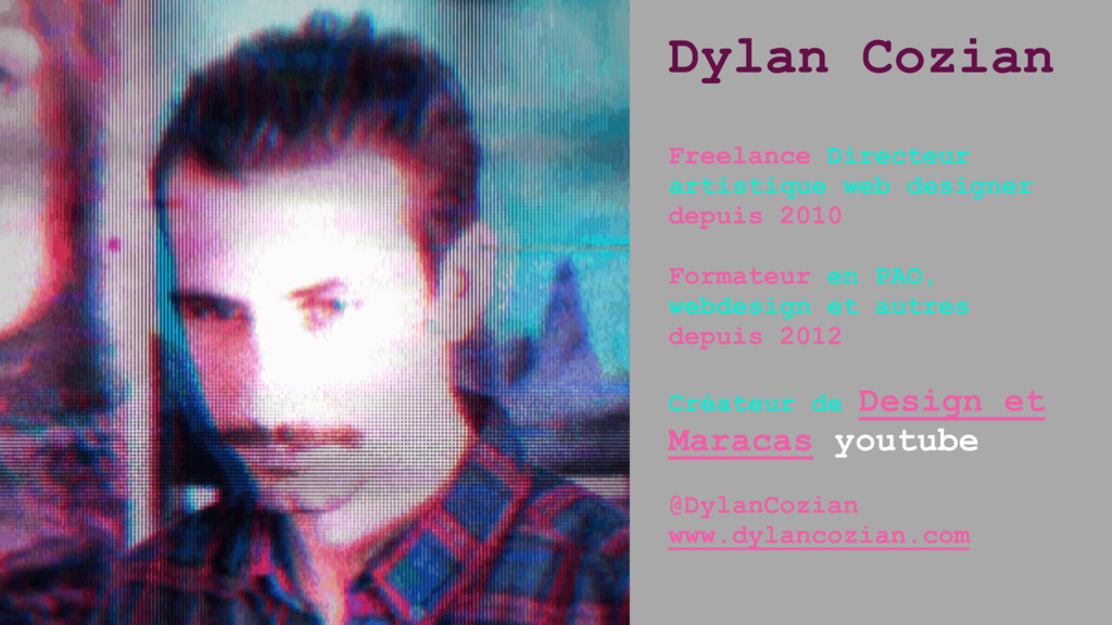 Dylan Cozian Freelance Directeur artistique web...