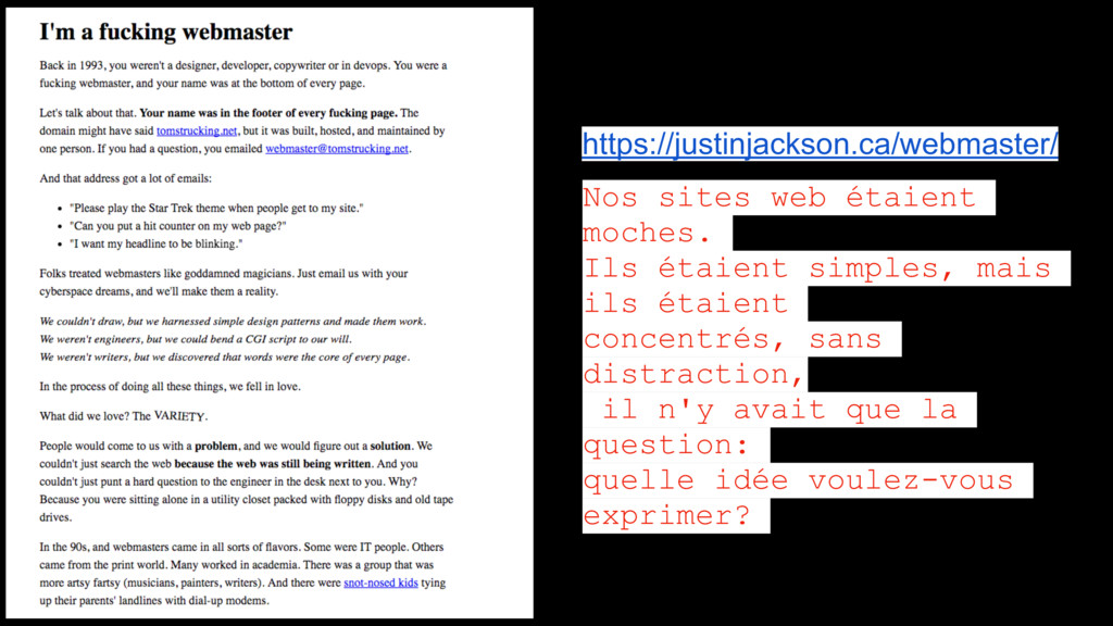 https://justinjackson.ca/webmaster/ Nos sites w...