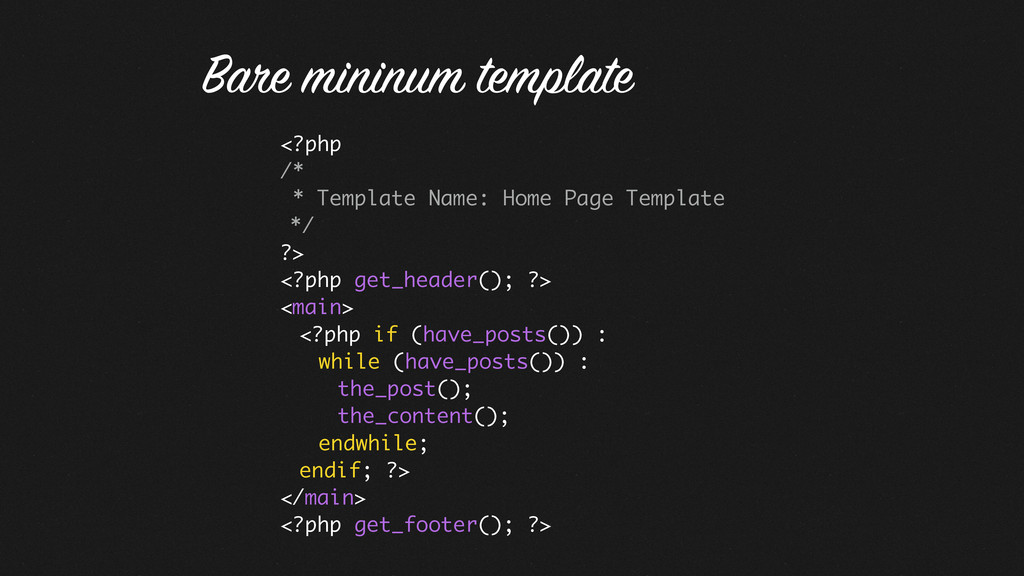 <?php /* * Template Name: Home Page Template */...