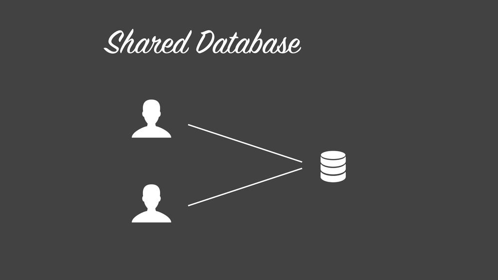 Shared Database