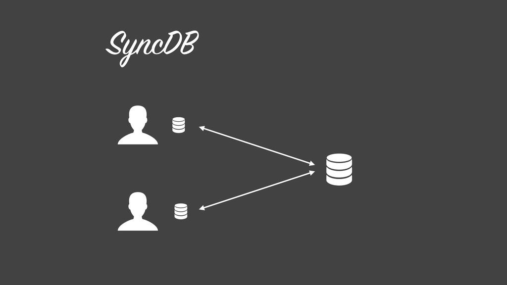 SyncDB