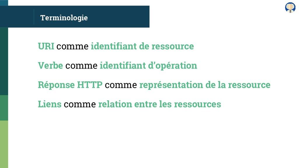 Terminologie URI comme identifiant de ressource...