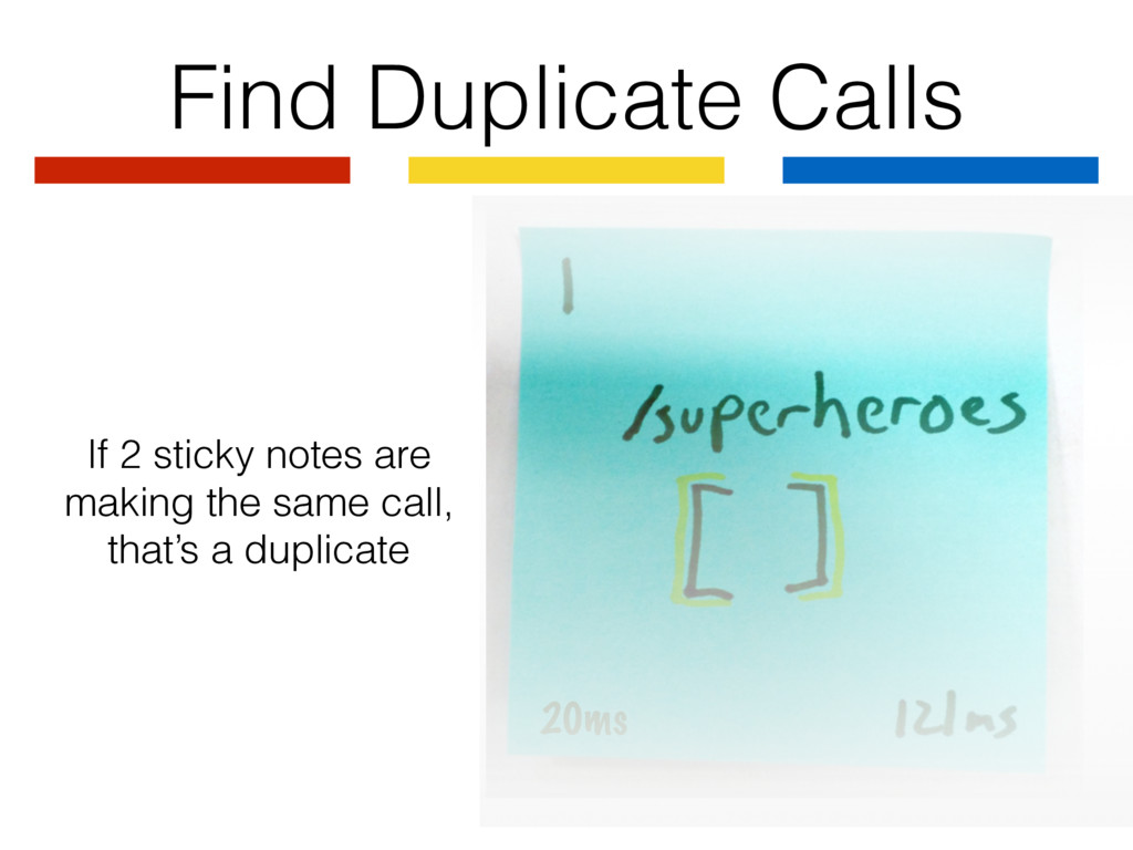 20ms Find Duplicate Calls If 2 sticky notes are...