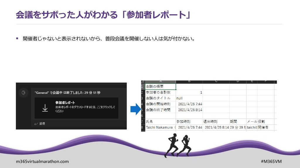 m365virtualmarathon.com #M365VM ▪ 開催者じゃないと表示されな...