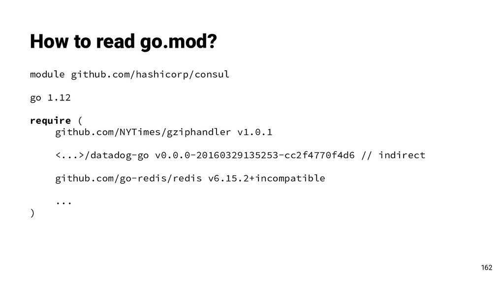 How to read go.mod? module github.com/hashicorp...