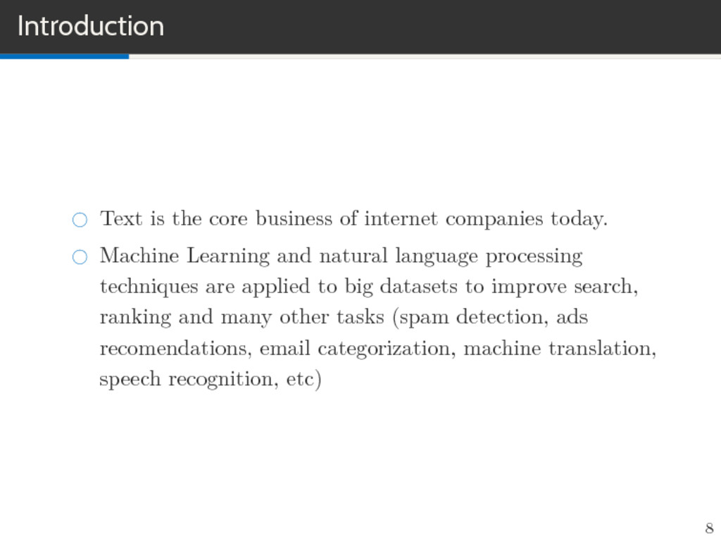 Introduction Text is the core business of inter...