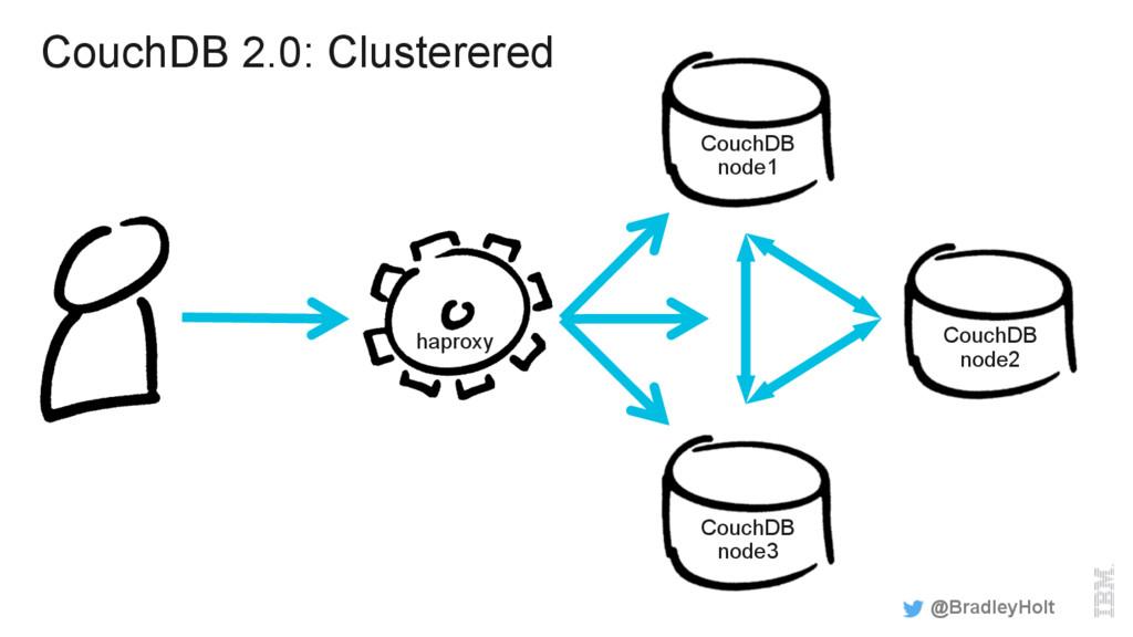 CouchDB 2.0: Clusterered @BradleyHolt CouchDB n...